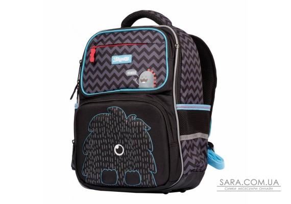 """Рюкзак шкільний 1Вересня S-105 """"Roarr"""", чорний (555489)"""