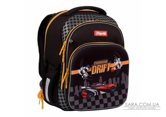 """Рюкзак шкільний 1Вересня S-106 """"MAXDRIFT"""", чорний (552290)"""