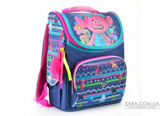 Рюкзак шкільний каркасний 1 Вересня H-11 Trolls, 34*26*14 (553405)