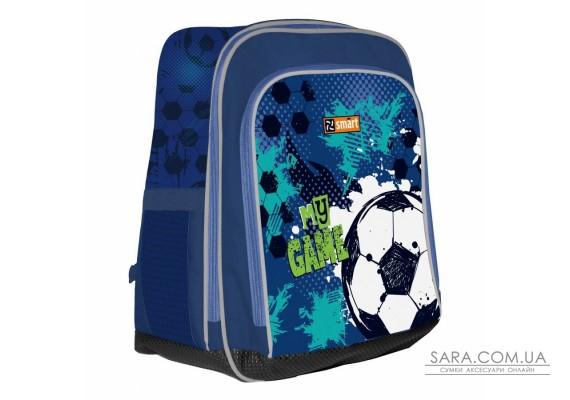 """Рюкзак шкільний SMART H-55 """"My Game"""", синій"""