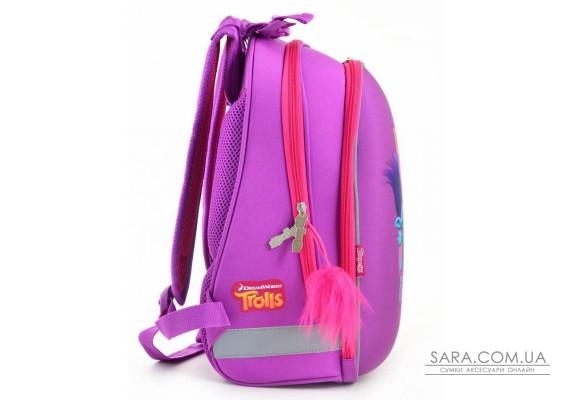 Рюкзак шкільний каркасний 1 Вересня H-12 Trolls, 38*29*15 (554369)