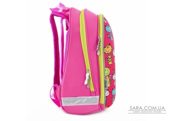 Рюкзак шкільний каркасний 1 Вересня H-12 Kotomaniya rose, 38*29*15 (554575)