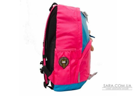 "Рюкзак подростковый YES  Х225 ""Oxford"", голубо-розовый, 33*17*47см"
