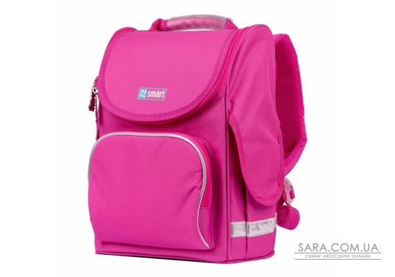 """Рюкзак шкільний каркасний SMART PG-11 """"Pink"""", рожевий"""