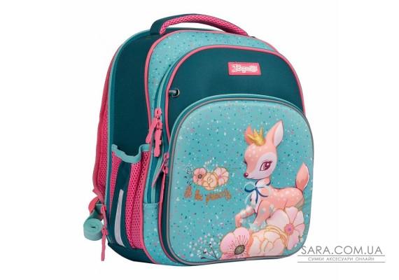 """Рюкзак шкільний 1Вересня S-106 """"Forest princesses"""", рожевий (558578)"""