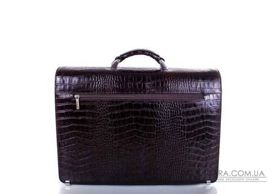 Шкіряний чоловічий портфель DESISAN (ДЕСІСАН) SHI217-10KR