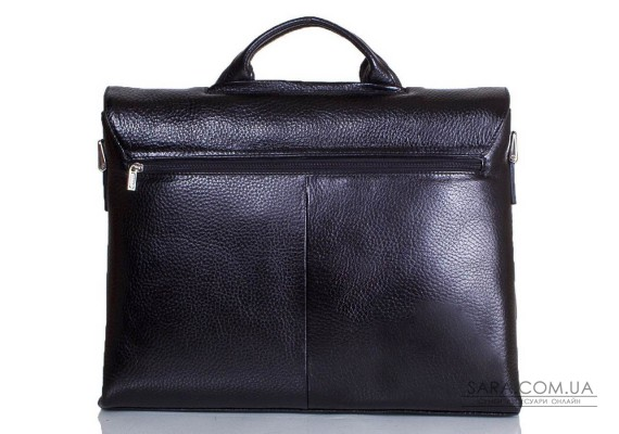 Портфель чоловічий шкіряний з відділенням для ноутбука DESISAN SHI1312-011-2FL