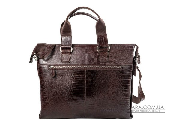 Чоловіча шкіряна сумка DESISAN SHI1341-142