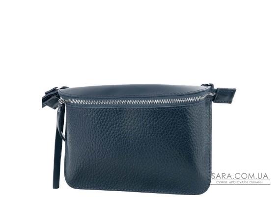 Жіноча шкіряна поясна сумка ETERNO AN-K139-grey