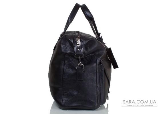 Дорожня шкіряна сумка TOFIONNO TU3200-1-black