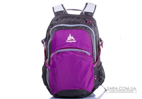Жіночий рюкзак з відділенням для ноутбука ONEPOLAR W1990-purple
