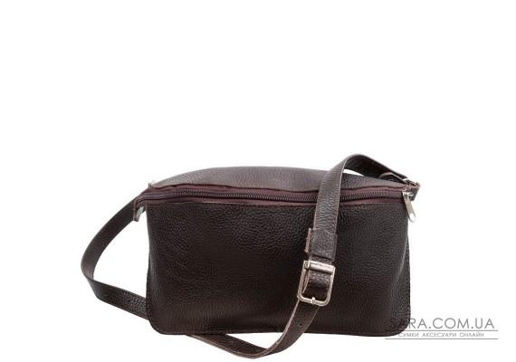 Жіноча дизайнерська шкіряна сумка поясна GALA GURIANOFF GG3012-10FL