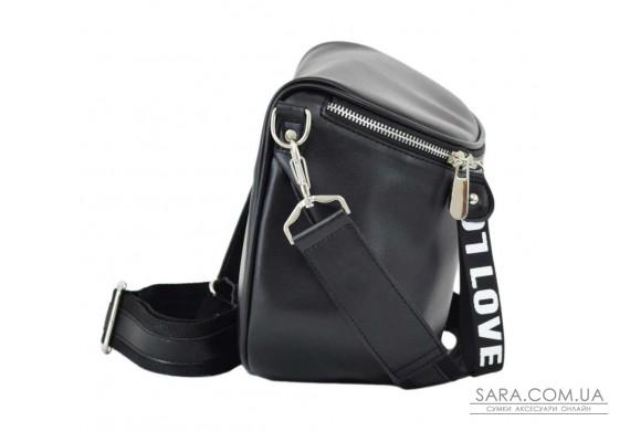 603 сумка чорна г love Lucherino