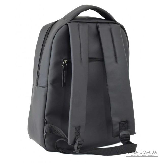 689 рюкзак черный Lucherino
