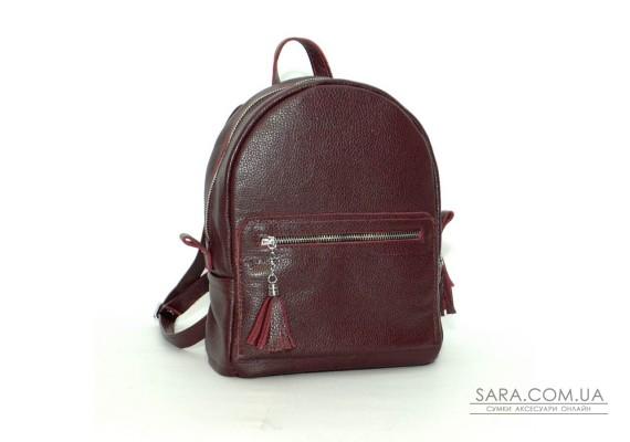 Жіночий шкіряний рюкзак B020109-grapes виноградний