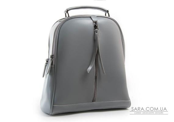Сумка Жіноча Рюкзак шкіра ALEX RAI 8694-3 l-grey
