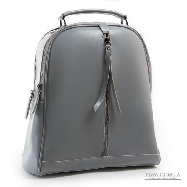 Сумка Женская Рюкзак кожа ALEX RAI 8694-3 l-grey дешево.