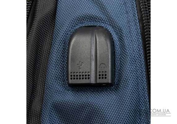 Рюкзак Міський нейлон Power In Eavas 8212 black-blue