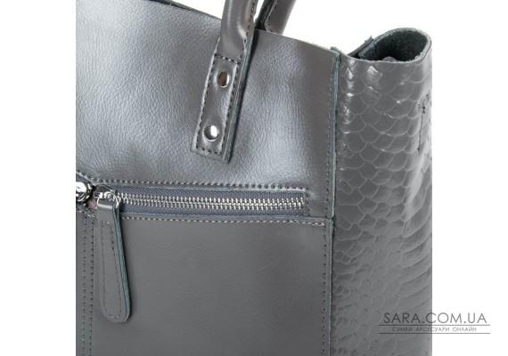Сумка Жіноча Класична шкіра ALEX RAI 05-01 8713-12 grey