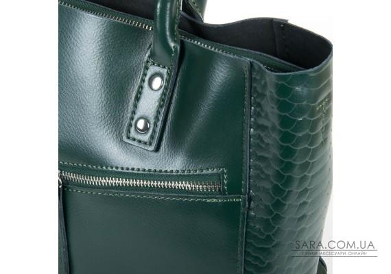 Сумка Жіноча Класична шкіра ALEX RAI 05-01 8713-12 green