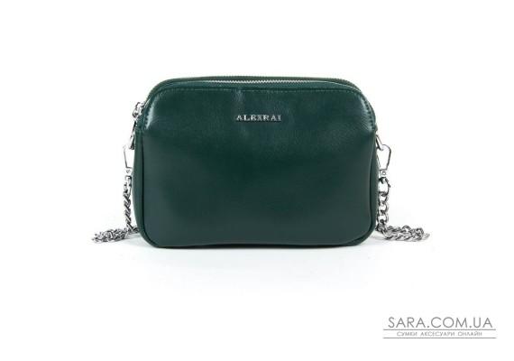 Сумка Жіноча Класична шкіра ALEX RAI 05-01 8701 green