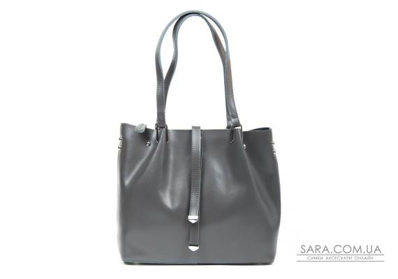 Сумка Жіноча Класична шкіра ALEX RAI 05-01 317 grey