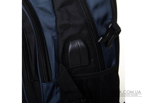 Рюкзак Міський нейлон Power In Eavas 7873 black-blue