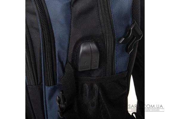 Рюкзак Міський нейлон Power In Eavas 7874 black-blue