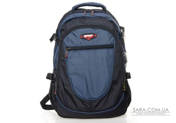 Рюкзак Міський нейлон Power In Eavas 9607 black-blue