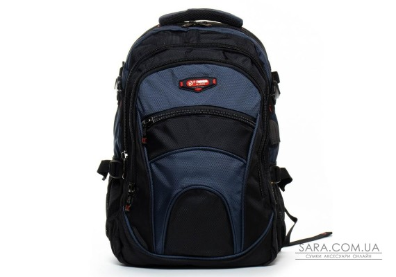 Рюкзак Міський нейлон Power In Eavas 310 black-blue