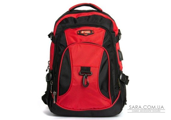 Рюкзак Городской нейлон Power In Eavas 9618 red