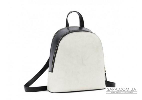 Рюкзак двоколірний Olivia Leather F-S-Y01-7005W