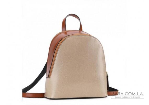 Рюкзак двоколірний Olivia Leather F-S-Y01-7005C