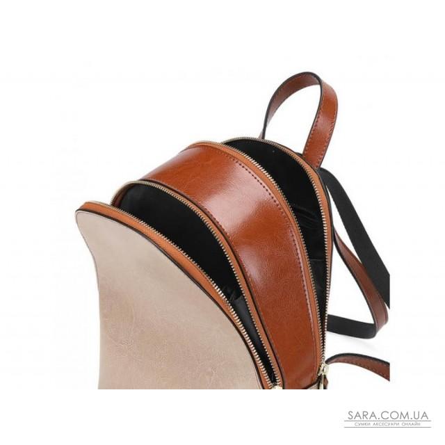 Рюкзак двухцветный Olivia Leather F-S-Y01-7005C недорого