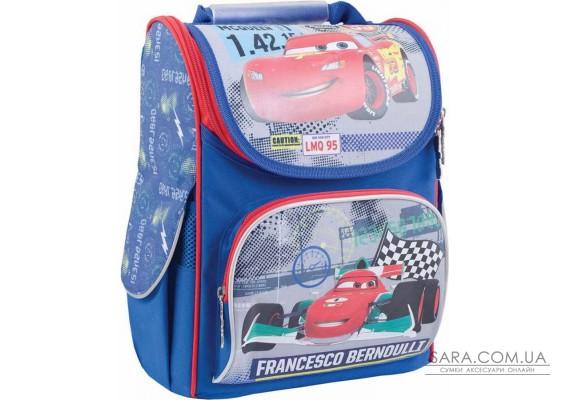 Рюкзак шкільний каркасний 1 Вересня H-11 Cars, 34*26*14