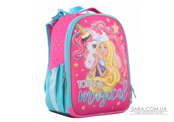 Рюкзак шкільний каркасний 1 Вересня H-25 Unicorn, 35*26*16