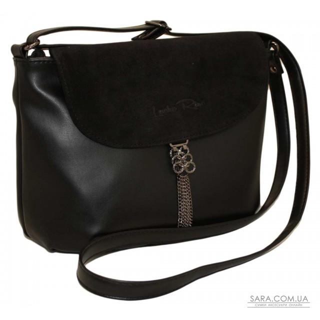 Купити 492 сумка замш чорна Lucherino дешево від виробника - магазин ... 15bb51e0a200a