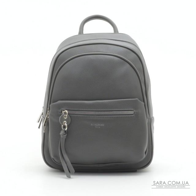 Рюкзак David Jones 6418-2T d.grey дешево