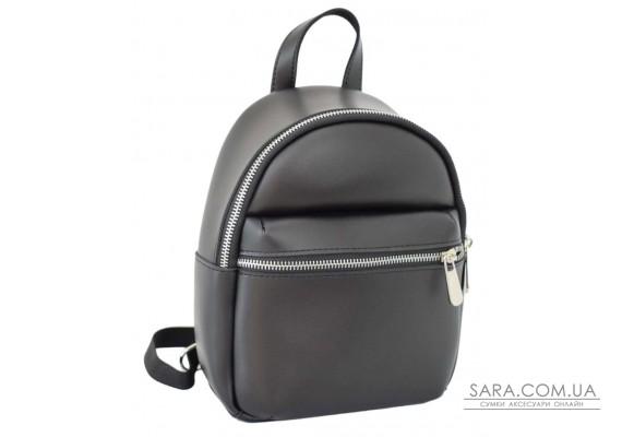 684 рюкзак чорний Lucherino