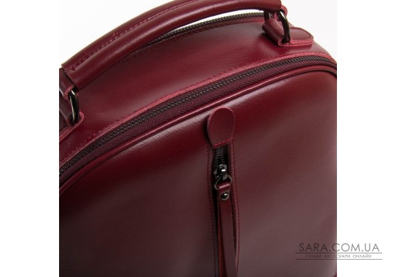 Сумка Жіноча Рюкзак шкіра ALEX RAI 8694-3 wine-red