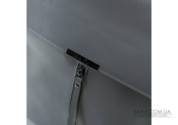 Сумка Жіноча Рюкзак шкіра ALEX RAI 373 l-grey