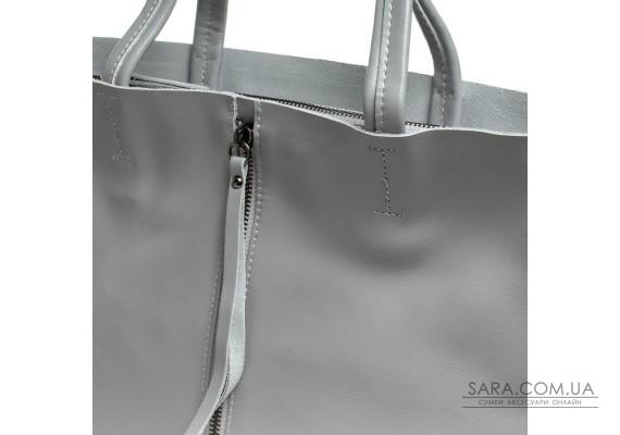 Сумка Жіноча Класична шкіра ALEX RAI 07-02 8704-220 l-grey