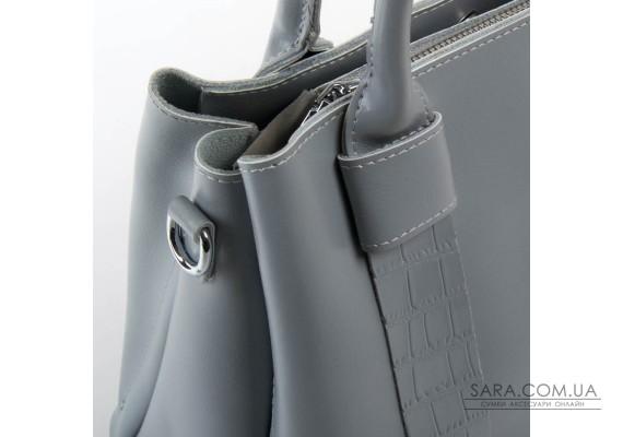 Сумка Жіноча Класична шкіра ALEX RAI 07-02 2235 l-grey