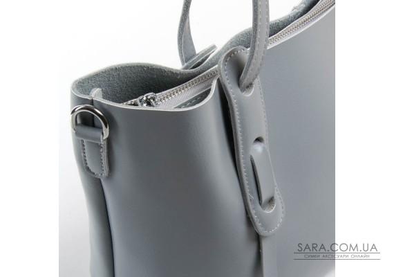 Сумка Жіноча Класична шкіра ALEX RAI 07-02 1991-220 l-grey