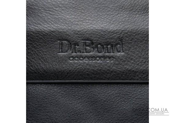 Сумка Чоловіча Планшет шкірзамінник DR. BOND GL 308-2 black Podium