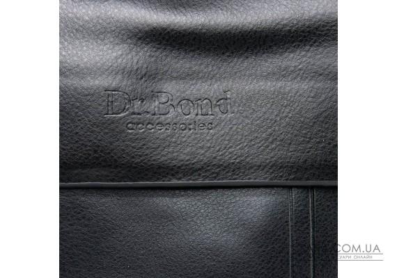 Сумка Чоловіча Планшет шкірзамінник DR. BOND GL 210-2 black Podium