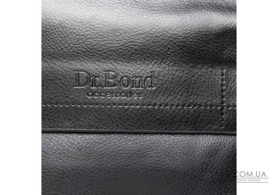 Сумка Чоловіча Планшет шкірзамінник DR. BOND GL 206-2 black Podium