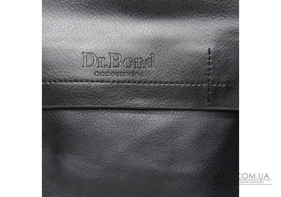 Сумка Чоловіча Планшет шкірзамінник DR. BOND GL 206-1 black Podium