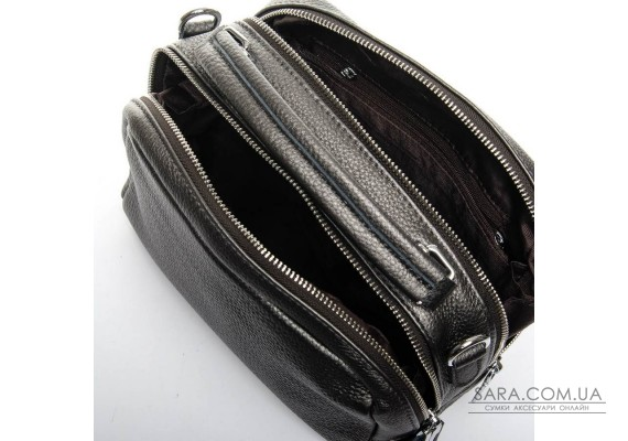 Сумка Жіноча Класична шкіра ALEX RAI 02-09 12-8731-9 silver-grey