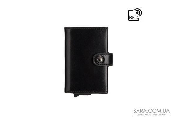 Кошелек-картхолдер Visconti ENZ80 Speziale (Black Shadow)
